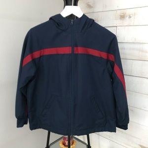 3/$20 Tek Gear Hooded Jacket Size Medium